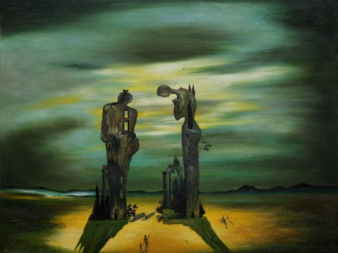 Salvador Dali.The Angelus. 1935.