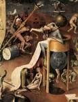 Fig 2. Hieronymus Bosch.O Jardim das Delícia (tríptico).Pormenor do volante direito. 1500.