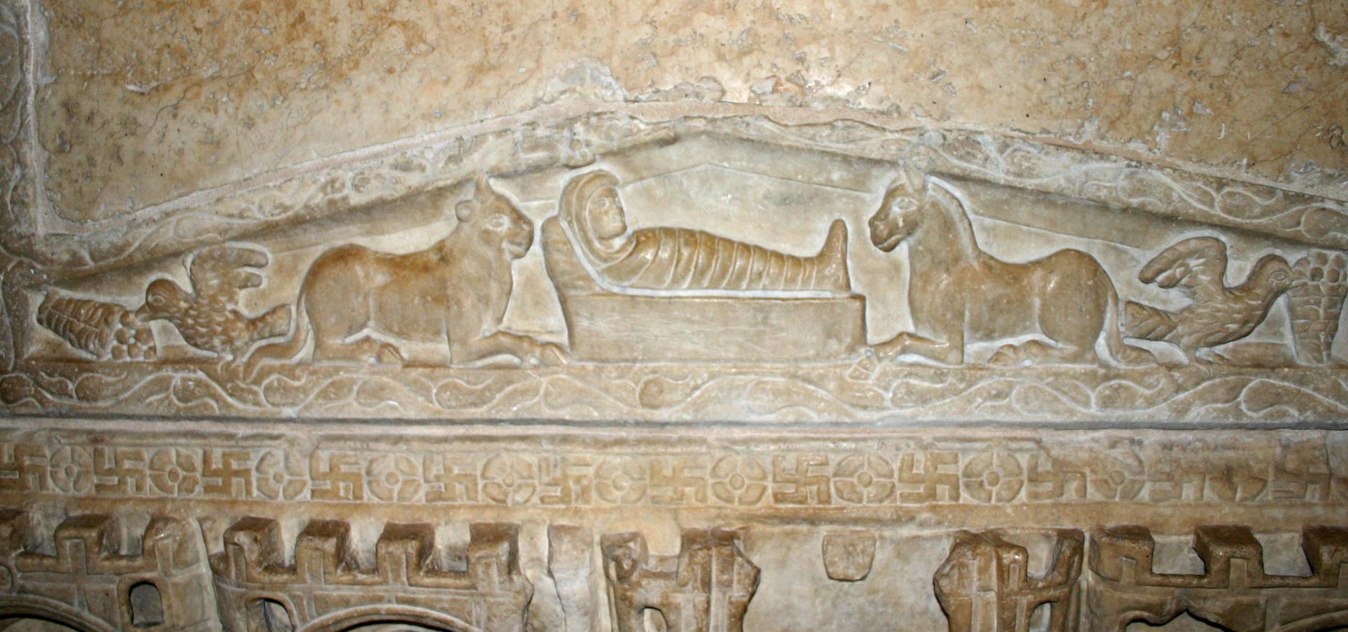 Sarcofago di Stilicone. Chiesa de Sant'Ambrogio. Milano. Séc. IV.