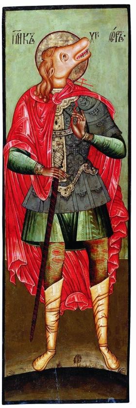 São Cristóvão com cabeça de cão, ca 1600.1700.