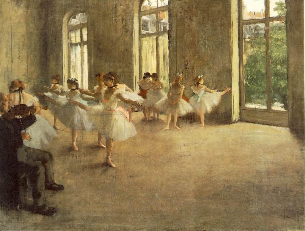 09. Edgar Degas. Ensaio de Ballet, 1879. Mussée d'Orsay