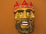 Fig 02. Três faces do Rei. Museu Cultural de Izamal. México