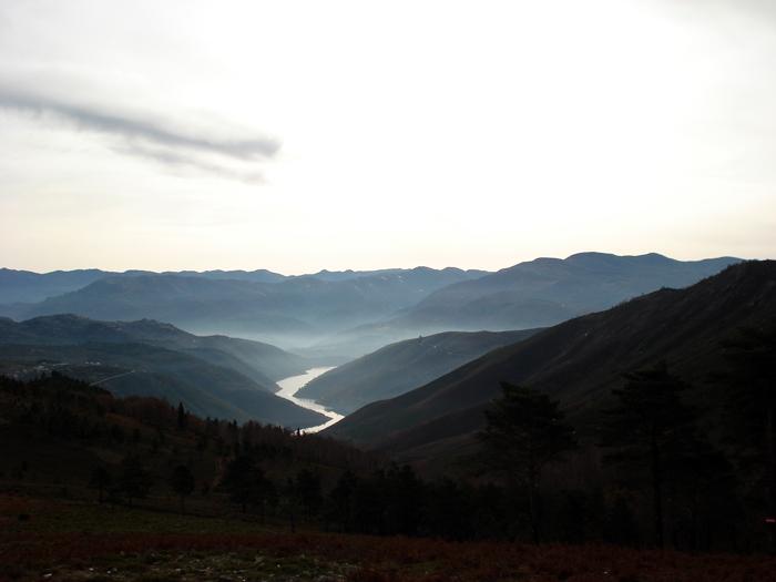 Rio Minho, em Melgaço.