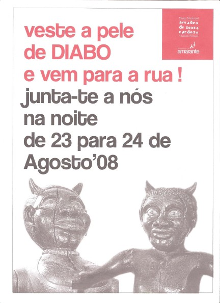 Fig 08. Cartaz Diabos à Solta. Amarante.
