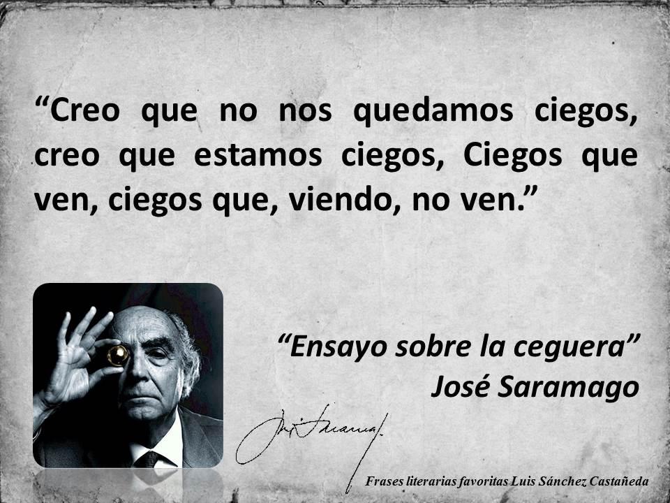 José Saramago, Ensayo sobre la ceguera.