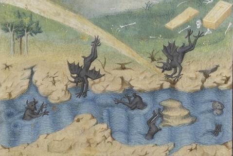 Pierre Salmon, Réponses à Charles VI et Lamentation au roi sur son état, Paris ca. 1408.
