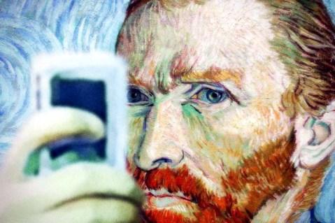 Selfie Van Gogh 2