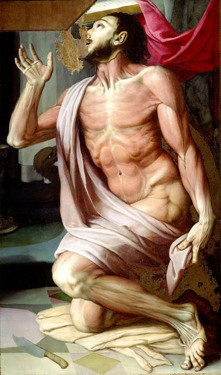 Agnolo Bronzino. São Bartolomeu. 1556
