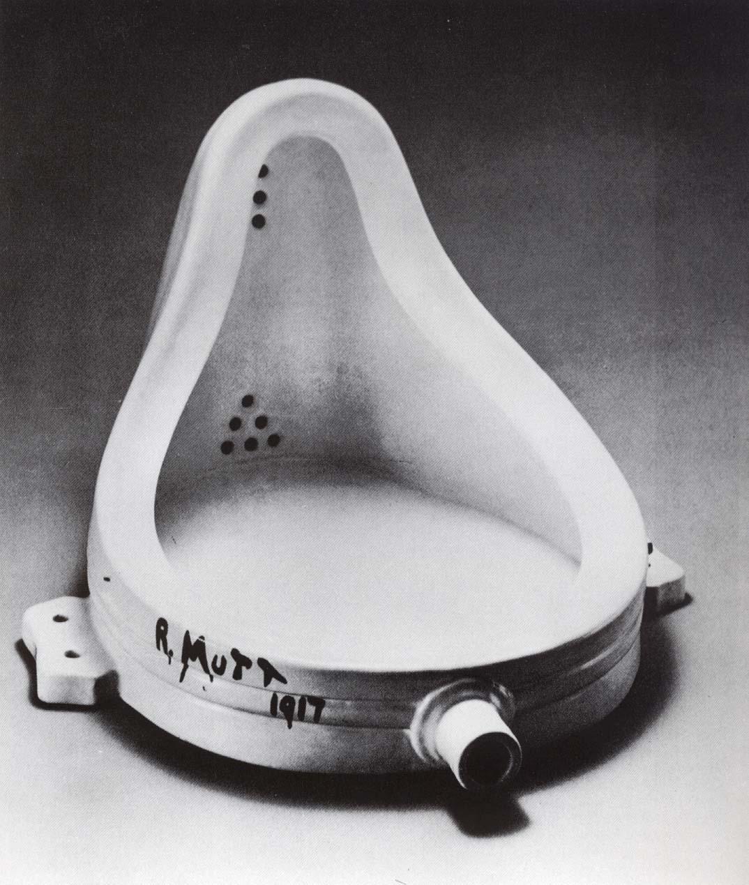 Marcel Duchamp. A Fonte. 1917.
