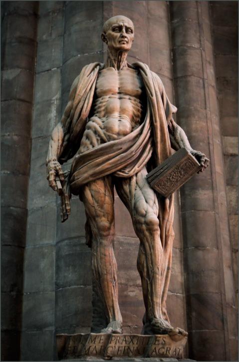 Marco d'Agrate. São Bartolomeu. Catedral de Milão. 1562.
