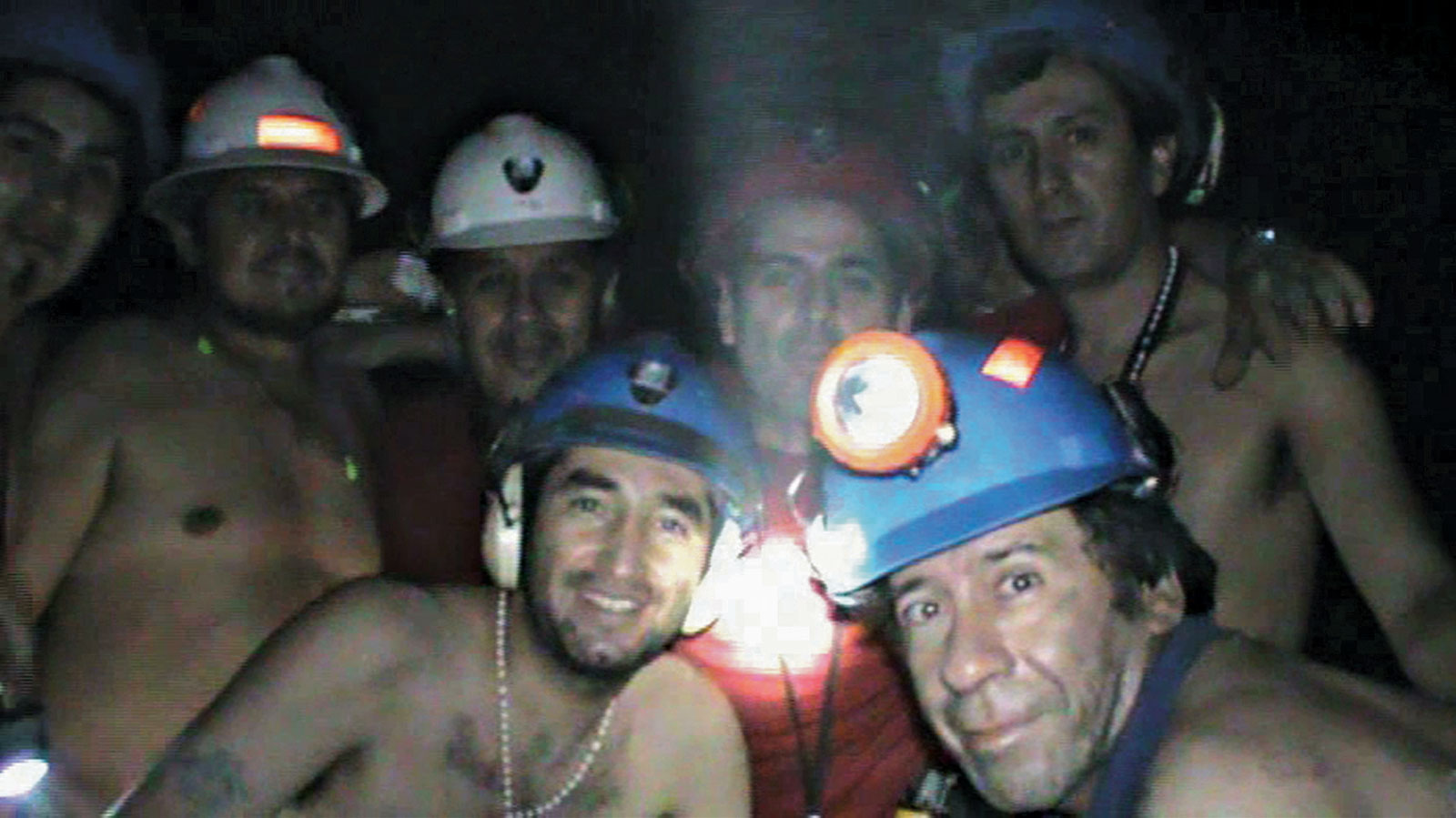 Mineiros chilenos