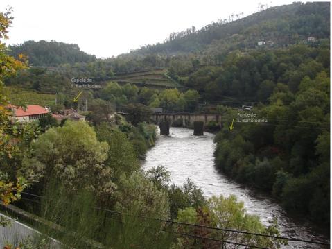 Ponte de Cavez. Cabeceiras de Basto