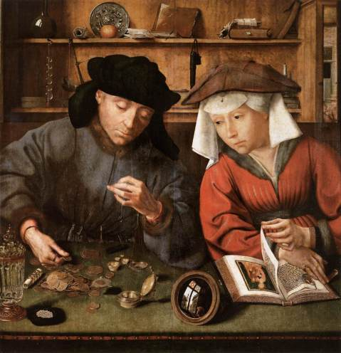 02. Quentin Massys. The Moneylender and his Wife. 1514.