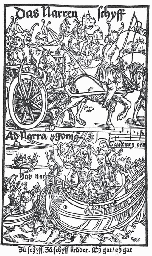 02 Sebastian Brant. A Nave dos Loucos, 1494.