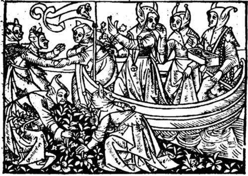 04 Josse Bade. Navicula stulterum mulierum. 1498.
