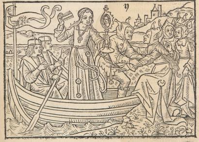 05 A Nave da Visão, Jehan Drouyn. La Nef des Folles. Paris, c. 1500.