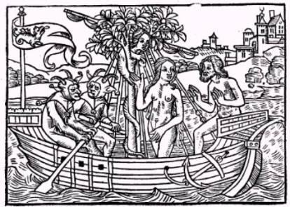 06 A Nave de Eva, Jehan Drouyn. La nef des folles, Paris, c.1500.