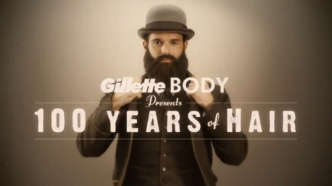 Gillette. 100 years of hair