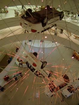 Cai Guo-Qiang. Guggenheim. 2008.