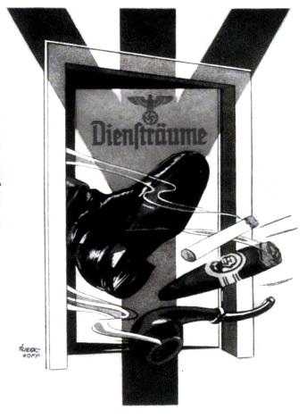 Cartaz nazi de 1941