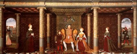 Família de Henrique VIII, c. 1545.