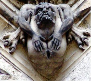 07 Gárgula. Catedral de Amiens. França.