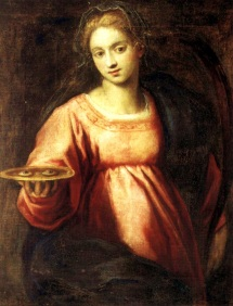 Palma il Giovane (1544-1628). Santa Luzia.