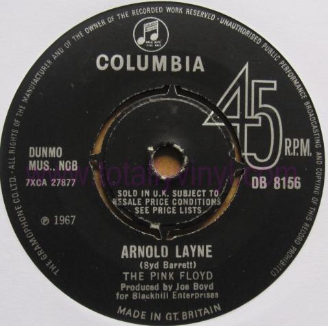Pink Floyd. Arnold Layne. 1967