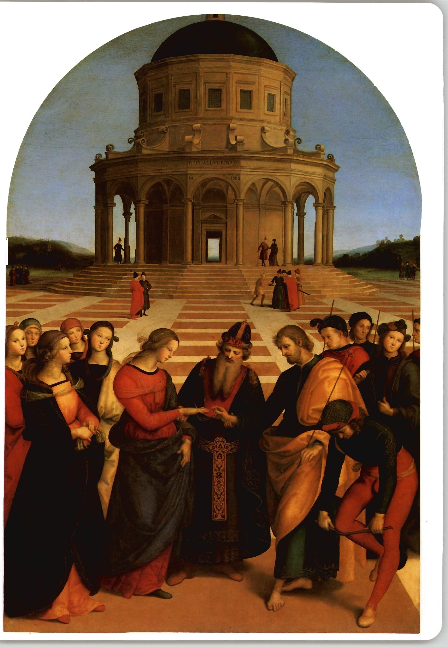 Rafael. Casamento da Virgem. 1504.
