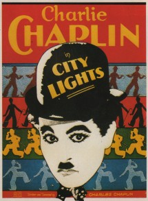 Charles Chaplins. City Lights. Cartaz