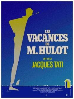 Jacques Tati. Les Vacances de Mr. Hulot.
