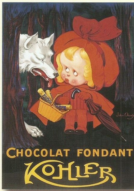 Print Chocolat Fondant Kolher. By John Onwy 1930