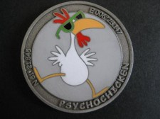 Psycho-Chicken Geocoin