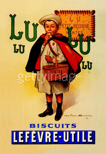 Reproduction of a Poster Advertising Menier Chocolate, 1893