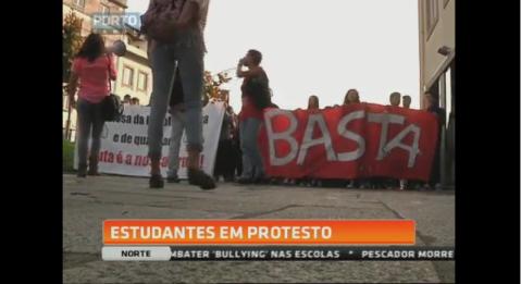 Manifestação alunos