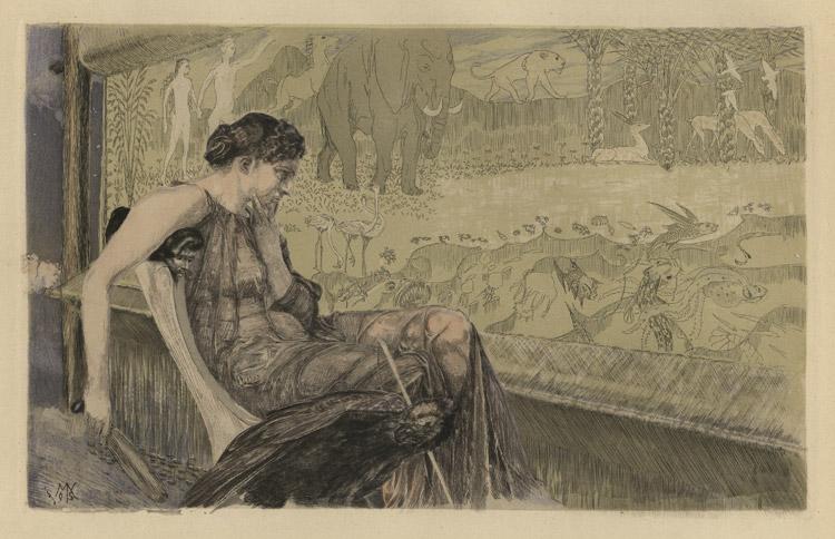 Max Klinger. Penelope. 1895.