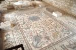 04 Mosaico alusivo à vinha e a vinificação. Igreja dos Santos Mártires Lot & Procopius. Khirbet Mukhayyat, Jordânia. Séc. VI.