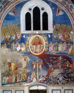 Giotto, Juízo Final , Capela Arena, Pádua, c. 1305.