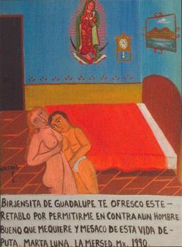 """""""Ex-voto"""". Cidade do México. 1990."""