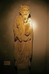 Fig 01. Statue of Moses c.1150-1200, St. Mary's Abbey, now in the Yorkshire Museum.