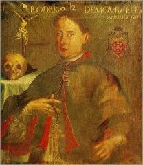 Don Rodrigo de Moura Telles. Arcebispo de Braga.