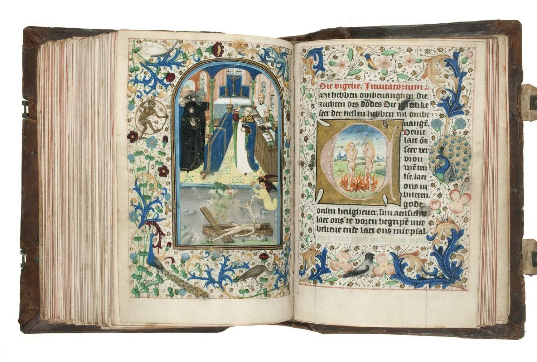 06. Geert Groote, auteur. Vlaamse Meester, illustrator, 1480. Utrecht, Museum Catharijneconvent.