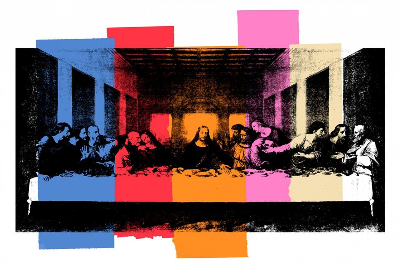 Andy Warhol. Last Supper.