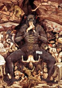 Giovanni da Modena, Inferno.Pormenor, ca. 1410.