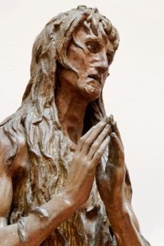 Donatello. The Penitent Mary Magdalene 1425 Cathedral Museum, Florence. Detail.