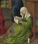 13. Rogier van der Weyden. The Magdalen reading sacra conversazione. Ca 1445.