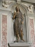 15. Mary Magdalene. 1464. Painted wood. Santa Trinità, Florence.