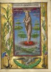 17. Taddeo Crivelli  Mary Magdalene  Borne Aloft. Gualenghi-d'Este Hours. 1469.