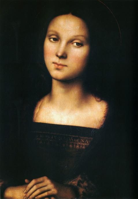 Perugino. Saint Mary Magdalene. Circa 1500-1502.