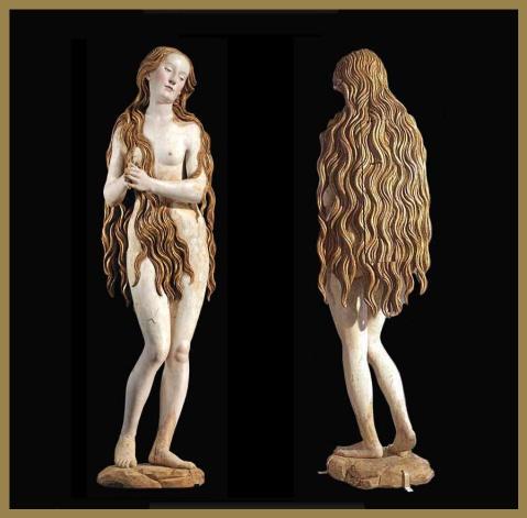 Gregor Erhart. Maria Madalena. 1510. Museu do Louvre.